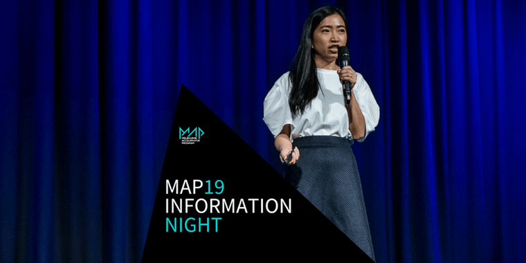 MAP19 Application Info Night & Mixer