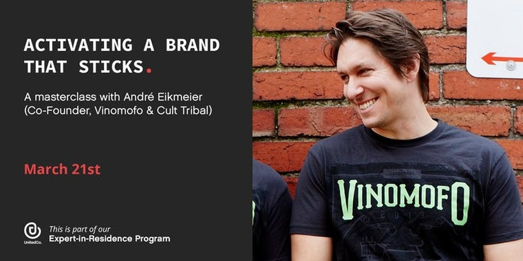 Activating a Brand that Sticks: A Masterclass with André Eikmeier